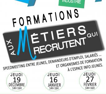 Speed meeting formations qui recrutent