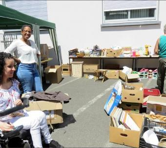 Brocante APF France Handicap