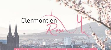 La course / marche Clermont en rose